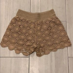 ALTAR'D STATE Nude, Lace Short